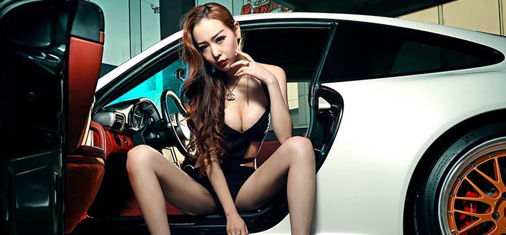 气质女神刘嘉琦车间邂逅性能王者911